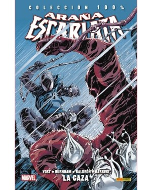 Colección 100% Marvel: ARAÑA ESCARLATA 03:  LA CAZA