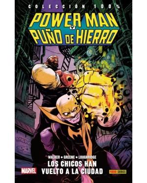 Colección 100% Marvel HC: POWER MAN Y PUÑO DE HIERRO 01: LOS CHICOS HAN VUELTO A LA CIUDAD
