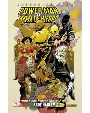 Colección 100% Marvel HC: POWER MAN Y PUÑO DE HIERRO 03: ARDE HARLEM