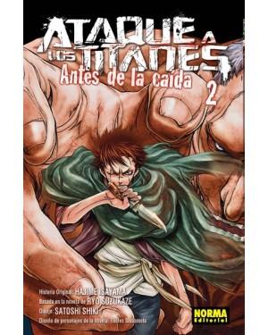 ATAQUE A LOS TITANES: ANTES DE LA CAÍDA 02