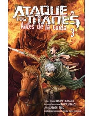 ATAQUE A LOS TITANES: ANTES DE LA CAÍDA 03