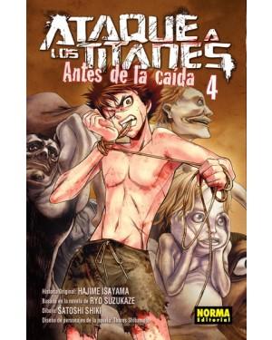 ATAQUE A LOS TITANES: ANTES DE LA CAÍDA 04