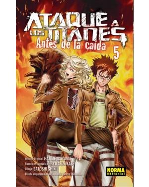 ATAQUE A LOS TITANES: ANTES DE LA CAÍDA 05