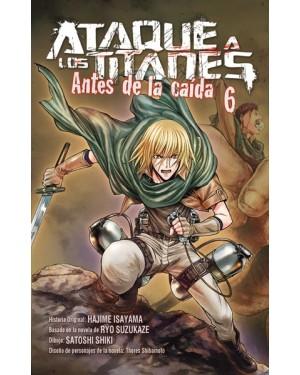 ATAQUE A LOS TITANES: ANTES DE LA CAÍDA 06