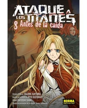 ATAQUE A LOS TITANES: ANTES DE LA CAÍDA 08