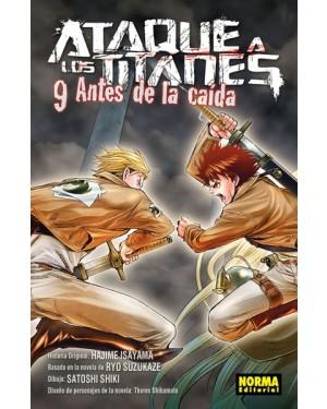 ATAQUE A LOS TITANES: ANTES DE LA CAÍDA 09
