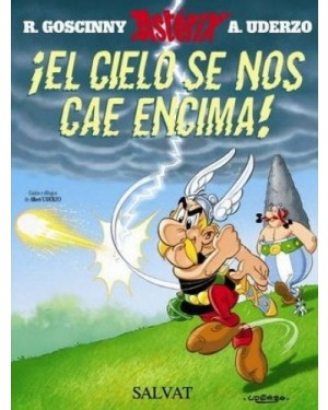 ASTÉRIX 33:  ¡ EL CIELO SE NOS CAE ENCIMA !