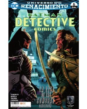 BATMAN: DETECTIVE COMICS 06 (Renacimiento)