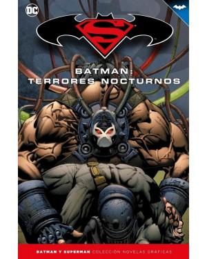 BATMAN Y SUPERMAN - colección novelas gráficas 22: BATMAN: TERRORES NOCTURNOS
