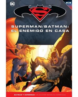 BATMAN Y SUPERMAN - colección novelas gráficas 25: SUPERMAN/BATMAN: EL ENEMIGO EN CASA