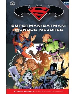 BATMAN Y SUPERMAN - colección novelas gráficas 31: SUPERMAN/BATMAN: MUNDOS MEJORES