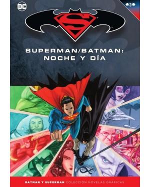BATMAN Y SUPERMAN - colección novelas gráficas 35: SUPERMAN/BATMAN: NOCHE Y DÍA