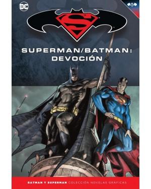 BATMAN Y SUPERMAN - colección novelas gráficas 41: SUPERMAN/BATMAN: DEVOCIÓN