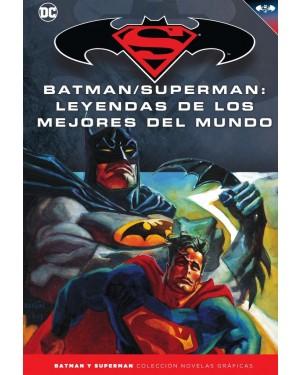 BATMAN Y SUPERMAN - colección novelas gráficas 52: LEYENDAS DE LOS MEJORES DEL MUNDO