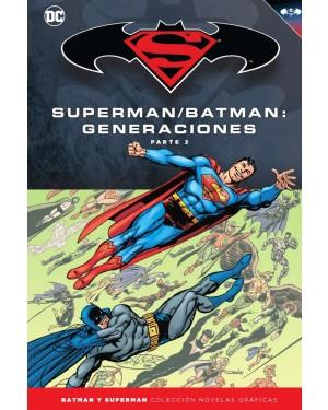 BATMAN Y SUPERMAN - colección novelas gráficas 54: BATMAN/SUPERMAN: GENERACIONES PARTE 2