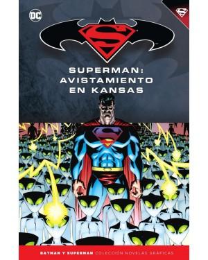 BATMAN Y SUPERMAN - colección novelas gráficas 57: SUPERMAN: AVISTAMIENTO EN KANSAS