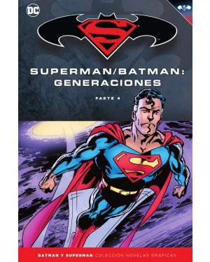 BATMAN Y SUPERMAN - colección novelas gráficas 60: BATMAN/SUPERMAN: GENERACIONES PARTE 4