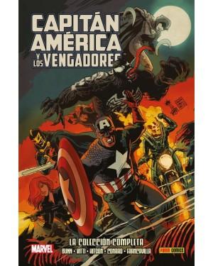 100% Marvel HC. CAPITÁN AMÉRICA Y LOS VENGADORES: LA COLECCIÓN COMPLETA