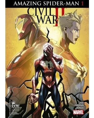 CIVIL WAR II:  AMAZING SPIDER-MAN 01