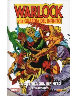 Colección Jim Starlin 09: LA GUERRA DEL INFINITO: EL DÍA DESPUES. WARLOCK Y LA GUARDIA DEL INFINITO