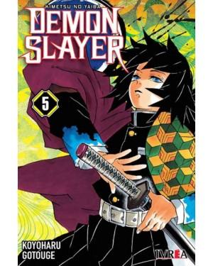 DEMON SLAYER 05 ( kimetsu no Yaiba )