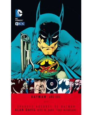 GRANDES AUTORES DE BATMAN: ALAN DAVIS - BATMAN AÑO DOS (2ª edición)