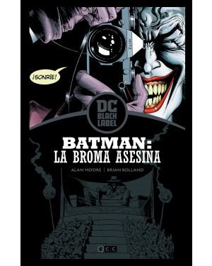 BATMAN: LA BROMA ASESINA (Edición DC Black Label)