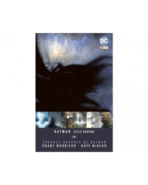 GRANDES AUTORES BATMAN: GRANT MORRISON Y DAVE MCKEAN - ASILO ARKHAM)