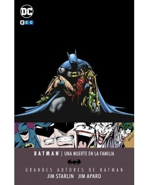 Grandes autores Batman:  UNA MUERTE EN LA FAMILIA