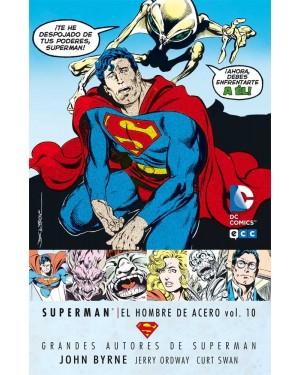 GRANDES AUTORES DE SUPERMAN: JOHN BYRNE - SUPERMAN: EL HOMBRE DE ACERO VOL. 10 DE 10