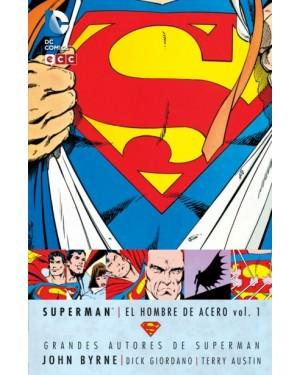 GRANDES AUTORES DE SUPERMAN: JOHN BYRNE - SUPERMAN: EL HOMBRE DE ACERO VOL. 01 DE 10 (2ª EDICIÓN)