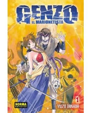 GENZO EL MARIONETISTA  (pack de 5 tomos)