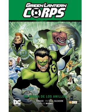 GREEN LANTERN CORPS 04: EN BUSCA DE LOS ANILLOS (La noche más oscura parte 2)