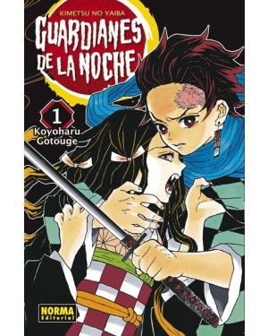 GUARDIANES DE LA NOCHE 01 ( kimetsu no Yaiba )