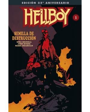 HELLBOY: SEMILLA DE DESTRUCCIÓN (Edición especial 25 aniversario)