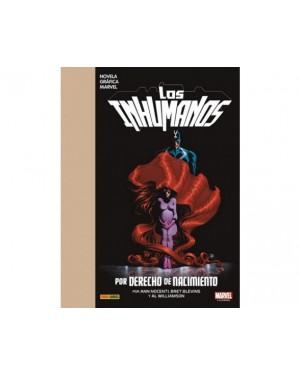 Marvel Graphic Novel:  LOS INHUMANOS: POR DERECHO DE NACIMIENTO
