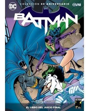 COLECCION BATMAN 80 ANIVERSARIO 16: EL LIBRO DEL JUICIO FINAL