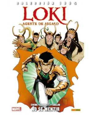 Colección 100% Marvel: LOKI AGENTE DE ASGARD: ¡NO PUEDO MENTIR!
