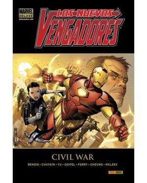 Marvel deluxe:  LOS NUEVOS VENGADORES 05:  CIVIL WAR