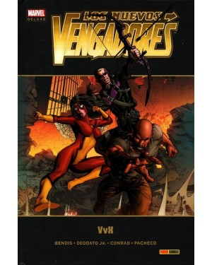 Marvel deluxe:  LOS NUEVOS VENGADORES 17:  VvX