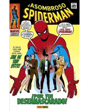 Marvel Gold Omnibus:  EL ASOMBROSO SPIDERMAN 05: ¡POR FIN DESENMASCARADO!