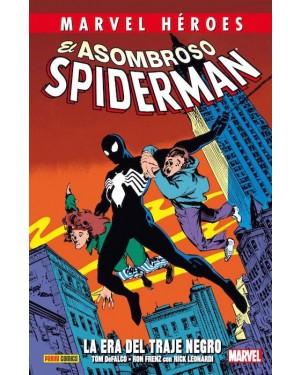 Marvel héroes 57: EL ASOMBROSO SPIDERMAN. LA ERA DEL TRAJE NEGRO