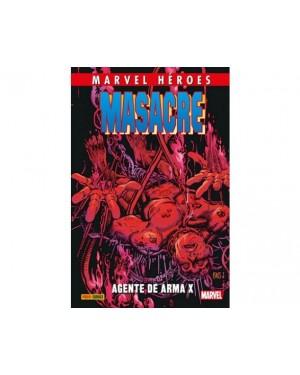 MARVEL HÉROES 84: MASACRE 04: AGENTE DE ARMA X