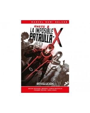 Marvel Now! Deluxe:  LA PATRULLA-X DE BRIAN MICHAEL BENDIS 02: REVOLUCIÓN