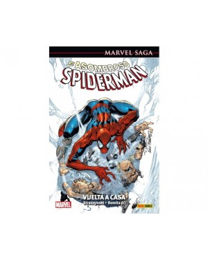 Marvel Saga 03:  EL ASOMBROSO SPIDERMAN 01: VUELTA A CASA