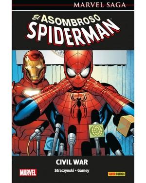 Marvel Saga 27:  EL ASOMBROSO SPIDERMAN 11 CIVIL WAR