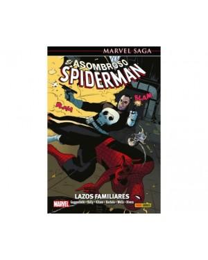 Marvel Saga 41:  EL ASOMBROSO SPIDERMAN 18: LAZOS DE FAMILIA