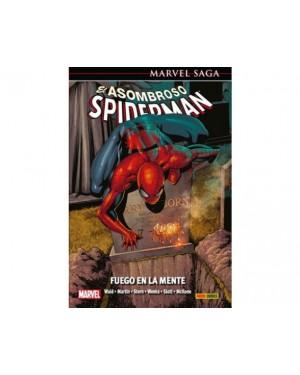 Marvel Saga 43:  EL ASOMBROSO SPIDERMAN 19: FUEGO EN LA MENTE
