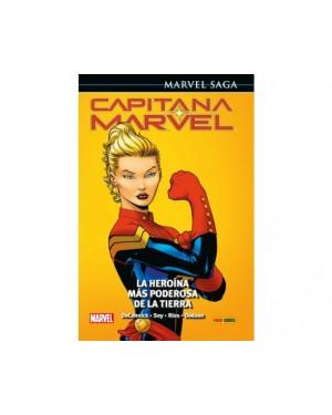 Marvel Saga 83:  CAPITANA MARVEL 01: LA HEROÍNA MÁS PODEROSA DE LA TIERRA