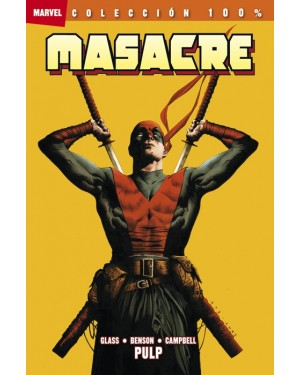 100% Marvel. Masacre: PULP